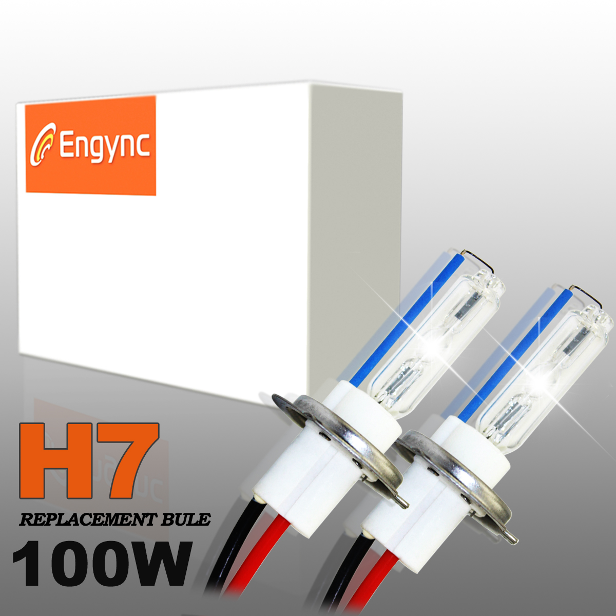 100w 12v hid xenon headlight replacement bulbs h1 h3 h4 h7. Black Bedroom Furniture Sets. Home Design Ideas